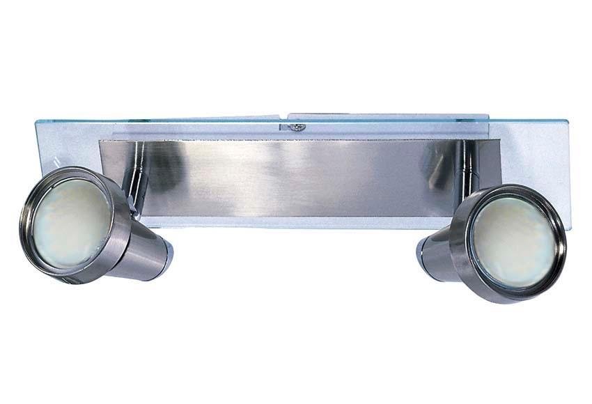 Barra de 2 luces serie baltic ref 16130940 leroy merlin for Luces leroy merlin