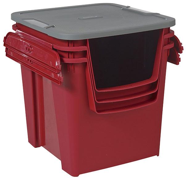 3 cajas de pl stico proton ref 17770326 leroy merlin for Cajas almacenaje leroy merlin