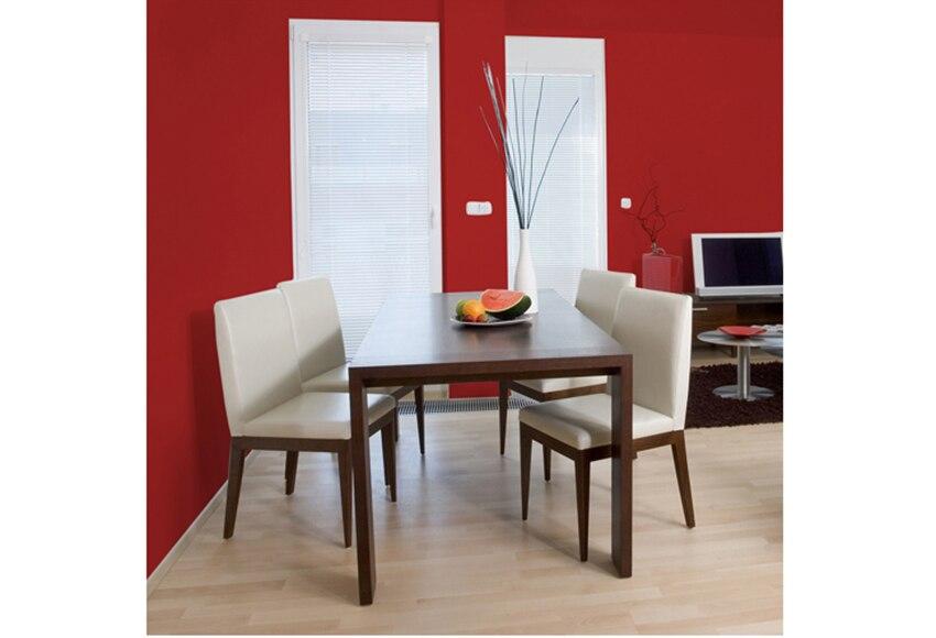 Pintura de color para paredes y techos luxens rojo rojo 3 - Leroy merlin pintura interior ...
