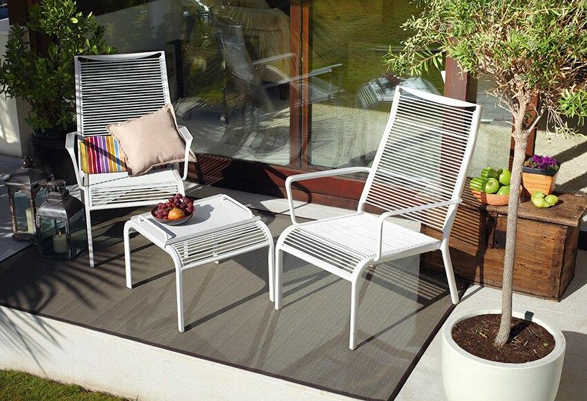 Set de aluminio y fibra trenzada italia ref 15960665 - Sillas para balcon ...