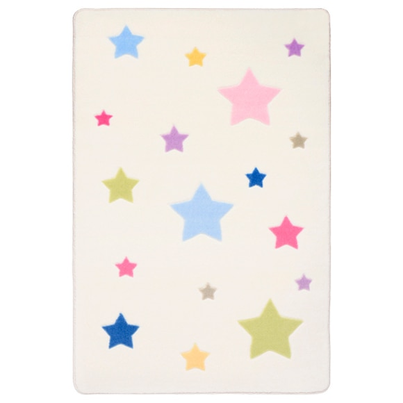 Alfombra Poliamida Infantil Confetti Star Ref 18912082