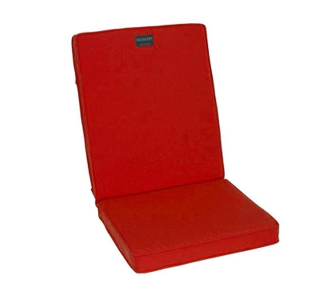 Coj n para silla premium rojo ref 14101955 leroy merlin - Cojin para silla ...