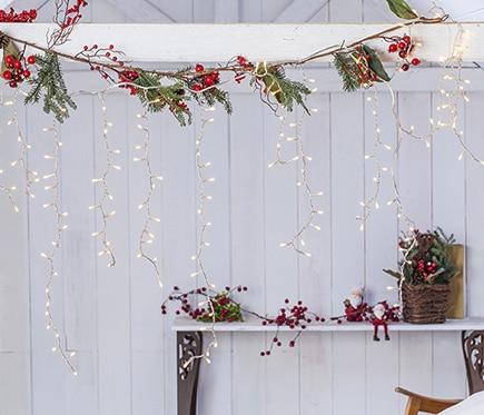 Taller de navidad decoraci n belenes y rboles for Luces de navidad leroy merlin