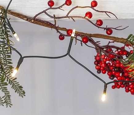 50 luces de navidad blancas ref 15393210 leroy merlin for Luces leroy merlin