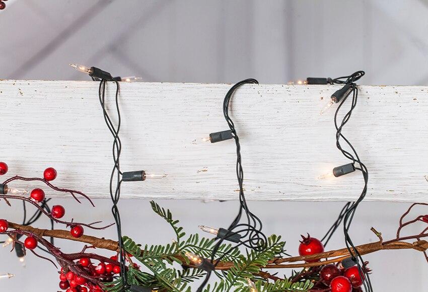 120 luces de navidad blancas ref 15393245 leroy merlin - Luces de navidad leroy merlin ...