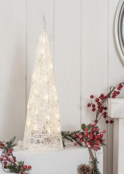 Cono blanco con luces 60cm ref 16433396 leroy merlin - Luces solares leroy merlin ...