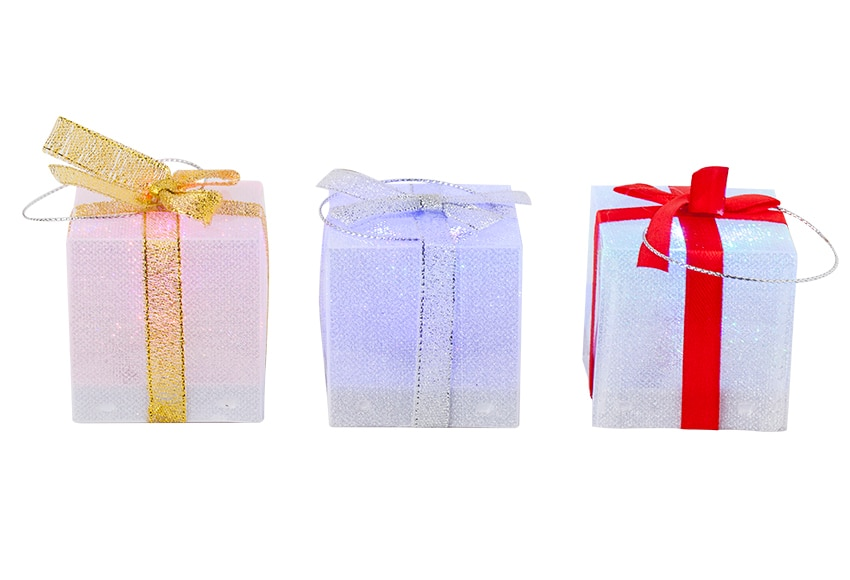 Caja de regalo con led 5x5cm ref 17017896 leroy merlin - Leroy merlin cheque regalo ...