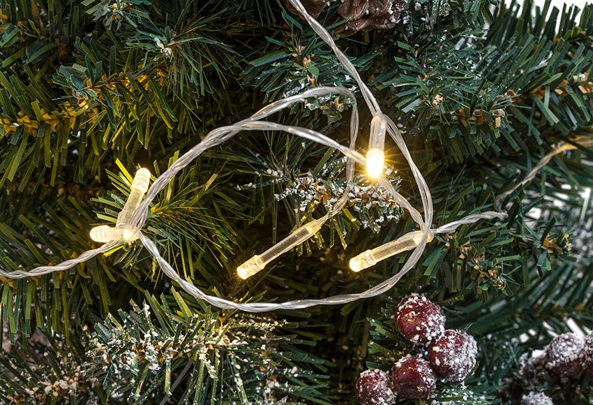 Guirnalda de 10 luces blancas c lidas 1 35m ref 17046463 - Luces led calidas ...