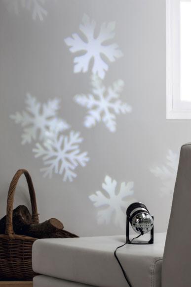 Proyector de copos de nieve blancos 5v ref 17740114 - Luces de navidad leroy merlin ...