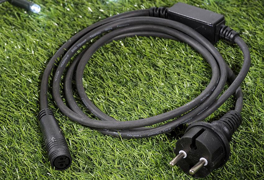cable de alimentación 15m ref 17740366  leroy merlin
