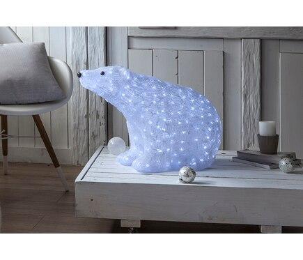 Oso con luces para exterior de 60cm ref 18831631 leroy for Luces de navidad leroy merlin
