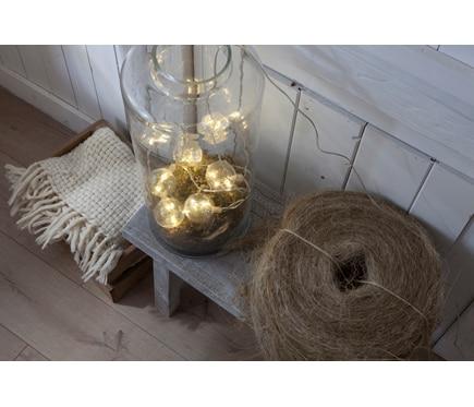 Guirnalda de luces con bolas de 1 5m ref 18844413 leroy for Guirnalda de luces bolas