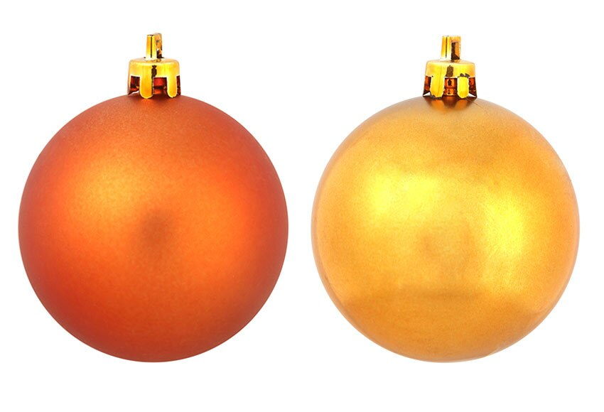 Bolas De Navidad Rojas Sobre Fondo Verde: Bolas Navideas. Unidsset Plstico Mini Azul Verde Decoracin