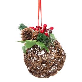 Bolas de navidad y adornos para rbol leroy merlin - Arbol navidad ratan ...