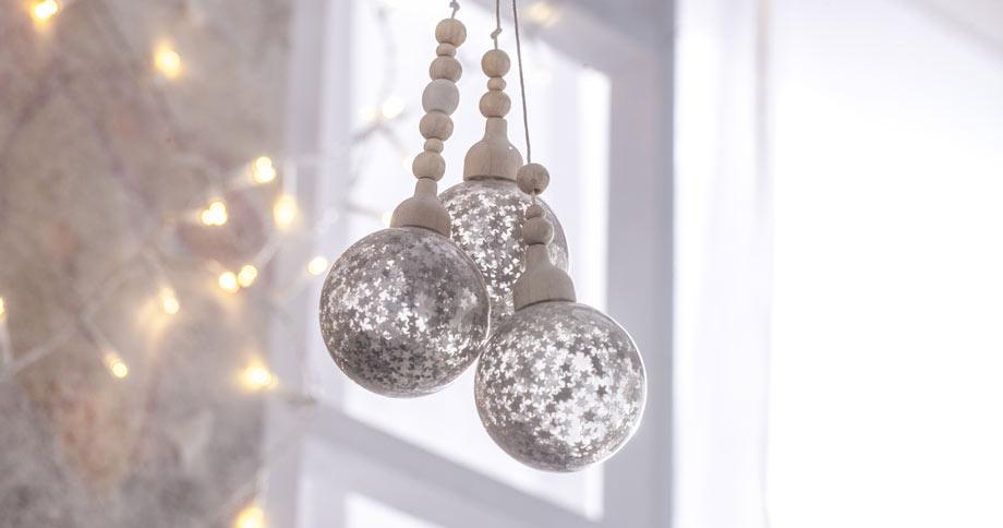 Bolas de navidad y adornos para árbol - Leroy Merlin