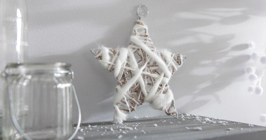 Resultado de imagen para Estrellas navideñas de madera leroy merlin
