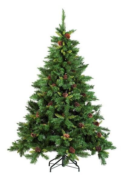 Rbol de navidad verde de 150cm springfield ref 15250830 for Arbol navidad leroy