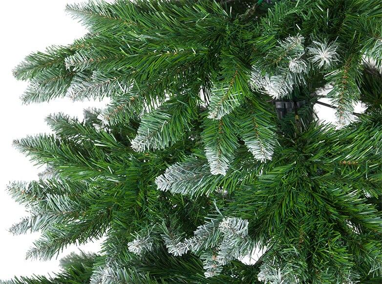 Rbol de navidad verde de 210cm springfield ref 15250886 - Arbol navidad leroy ...