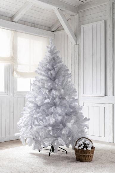 Rbol de navidad blanco de 180cm alberta ref 15250942 - Arbol navidad blanco ...
