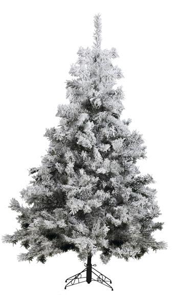 Rbol de navidad verde nevado de 210cm yukon ref 17701082 for Arbol navidad leroy