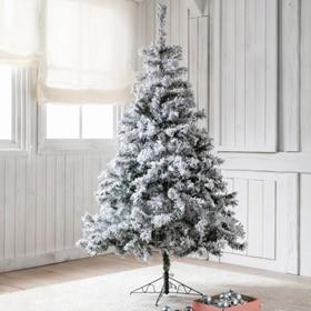 Rbol de navidad blanco de 180cm alberta ref 15250942 - Arbol navidad leroy ...