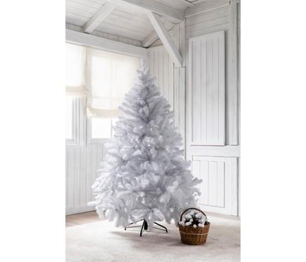 Rbol de navidad blanco de 180cm alberta blanco ref 15250942 leroy merlin - Arbol de navidad blanco ...