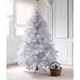 Rbol de navidad verde de 180cm vermont ref 14831012 leroy merlin - Arbol navideno blanco decorado ...