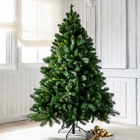 Rbol de navidad verde de 180cm vermont ref 14831012 for Arbol navidad leroy