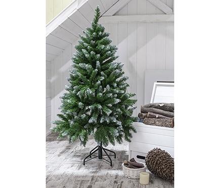 Rbol de navidad verde de 180cm allison nevado ref for Arbol navidad leroy