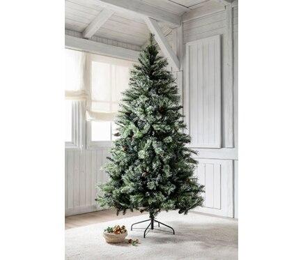 Rbol de navidad verde nevado de 200cm aspen mix ref for Arbol navidad leroy