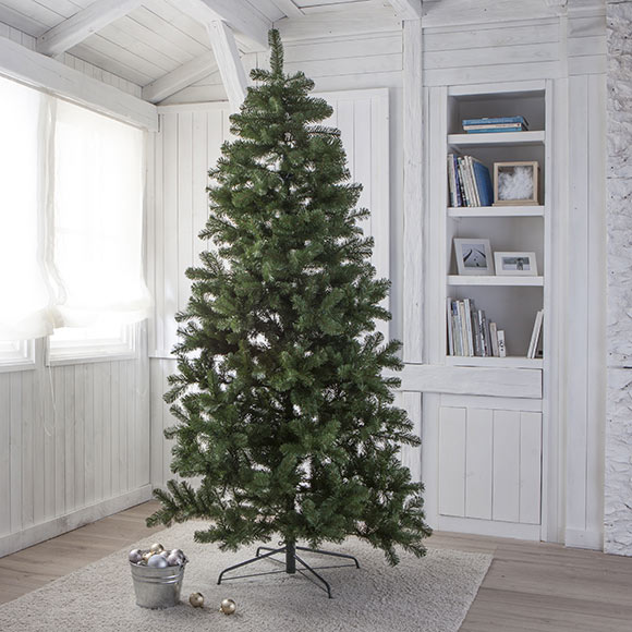Rbol de navidad verde de 240 cm exterior ref 18829384 - Arbol de navidad exterior ...
