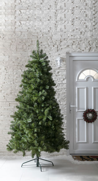 Rbol de navidad verde de 180 cm exterior ref 18830070 - Arbol de navidad exterior ...