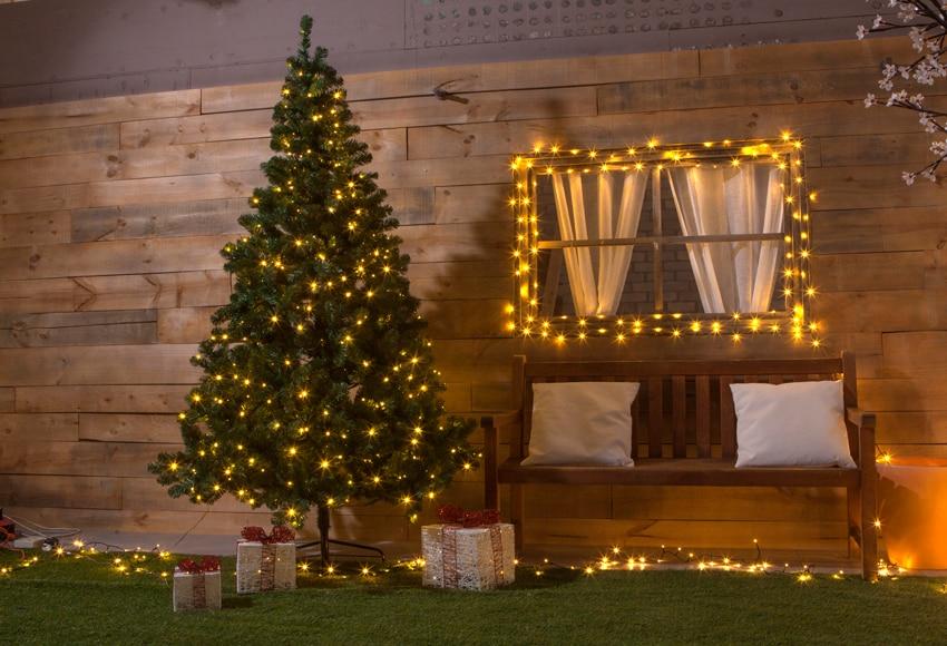 Rbol de navidad de 210 cm y 380 luces imperial iluminado for Arbol navidad leroy