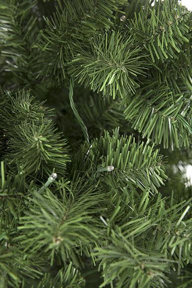 Rbol de navidad de 180 cm y 260 luces imperial iluminado - Luces de navidad leroy merlin ...