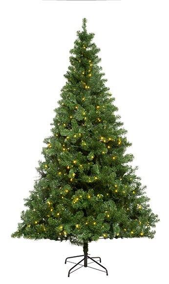 Rbol de navidad de 300 cm y 740 luces imperial iluminado for Luces de navidad leroy merlin