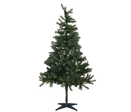 Rbol de navidad verde 210cm jardine ref 17689385 leroy for Arbol navidad verde