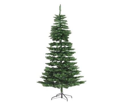 Rbol de navidad verde de 150cm lodge slim ref 17699885 - Arbol navidad leroy ...