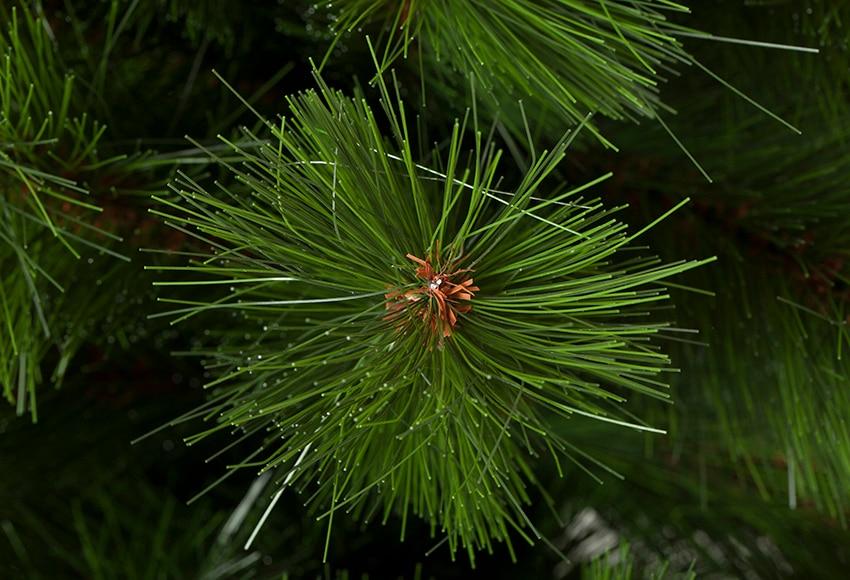 Rbol de navidad verde de 120cm montgomery ref 16461165 - Arbol de navidad leroy merlin ...