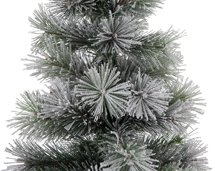 Mini rbol de navidad nevado 90cm nevado ref 17017735 - Arbol de navidad leroy merlin ...