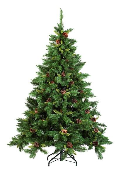 Rbol de navidad verde de 150cm springfield ref 15250830 - Arbol navidad leroy ...