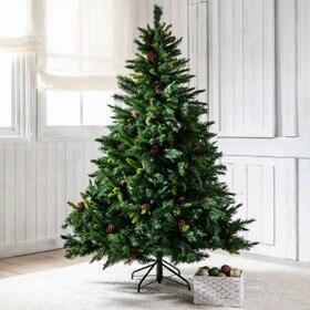Rbol de navidad verde de 180cm alberta verde ref for Arbol navidad leroy