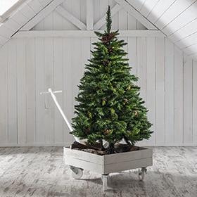 rboles de navidad leroy merlin