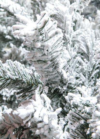 Rbol de navidad verde nevado de 240 cm toronto nevado ref 18829874 leroy merlin - Arbol de navidad nevado artificial ...