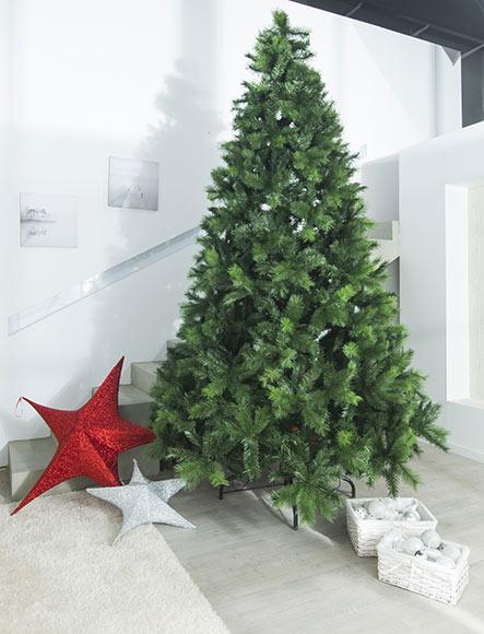 Rbol de navidad verde de 300cm vancouver mixed ref for Arbol navidad leroy