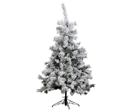 Rbol de navidad verde nevado de 150cm yukon ref 17700522 for Arbol navidad leroy