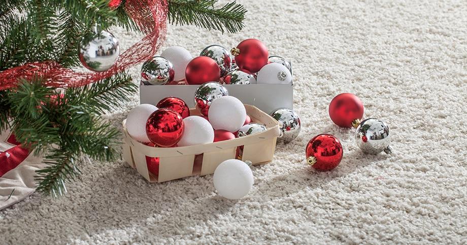 b4766357716 Decoración navideña blanca y roja - Leroy Merlin